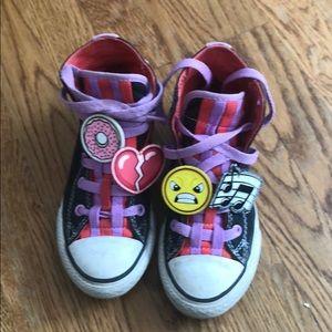 Converse emoji sneakers
